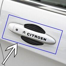 Наклейки с логотипом автомобиля, 8 шт., значок на дверь автомобиля, наклейка, аксессуары для Citroens C0 C1 C2 C3 Picasso C4 Cross Cactus C5 C6 C8 C4L DS3 DS5