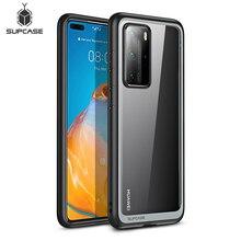 Do obudowy Huawei P40 Pro (wydanie 2020) SUPCASE UB Style Slim Anti knock Premium hybrydowy ochronny TPU zderzak + PC przezroczysta okładka
