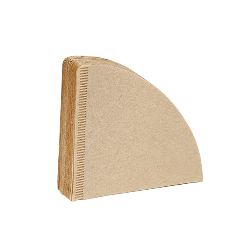 V60 Filter Cup Special 102 Coffee Filter Paper Coffee Filter Papers Unbleached Original Wooden Drip Paper Cone Shape Coffee Tool