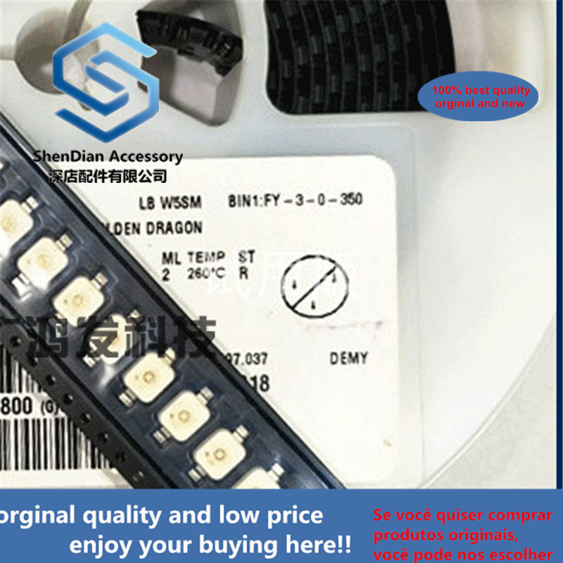 5pcs 100% Orginal New LBW5SM SMD SMD Blue Blue LED Automotive Interior Lighting 7060 6070