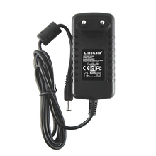 LiitoKala 12V 1.5A adapter do lii 260 lii 300, 12V 2A adapter do lii 400 lii 500, ładowarka