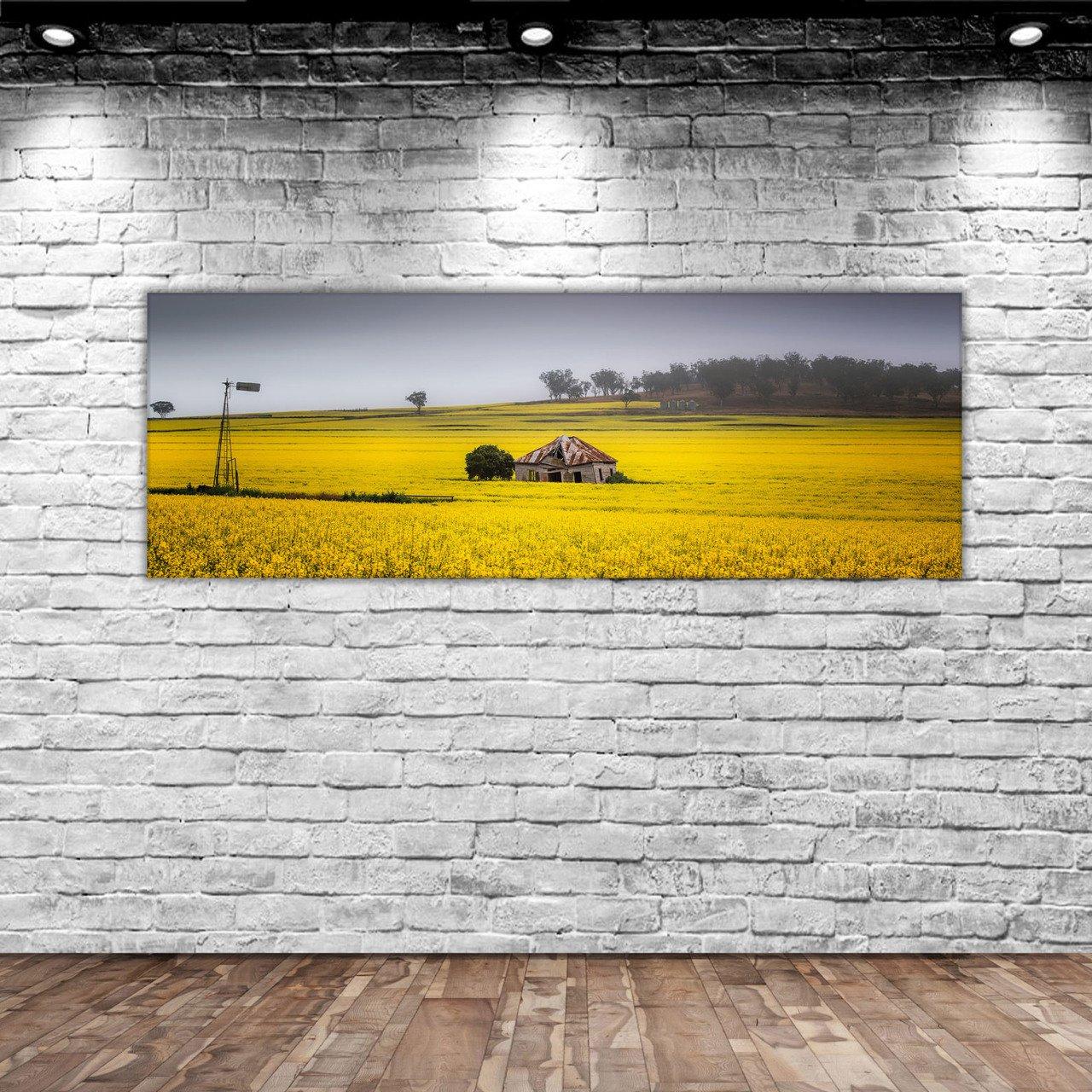 BK Home Landscape Panorama Canvas Table 100x35cm-3 Modern Convenient Reliable Decoration Gift Quality Design Simple Vicinity