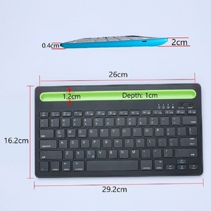 Image 5 - Bluetooth MIni Keyboard With Phone Holder Wireless Keyboard For Tablet/Laptop/phone,Compatible with IOS/Windows/Android