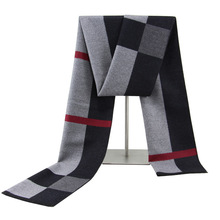 Men's Scarf,plaid Square Scarf,winter Warm Scarf Men,thick Plaid Scarf,striped Scarf,men's Velvet