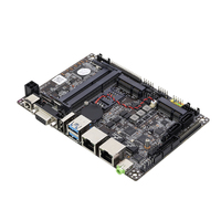 Intel Core i3 4010U Motherboard Mini ITX 2*RAM 2*Gigabit LAN 6*COM HDMI VGA USB HDD SATA Mini PCI E Desktop Mainboard