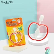 Baby Apple Teething Toys Cartoon Stereoscopic Fruit Food Grade Silicone Teether