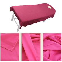 10PCS Profession Flat Sheets with hole Beauty salon Cosmetic sheets SPA massage treatment bed cover hot sale