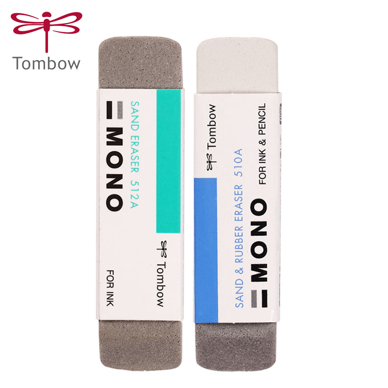 Japan TOMBOM Sand Eraser ES-512A Matte Eraser Ball-point Pen Eraser Gel Pen Pen Clean Student Stationery Supplies