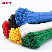 100pcs Nylon Cable Ties Zip tag UV Resistant color 6 Inch Wide 3.6mm Self-locking marker Office Organizer Garden ties