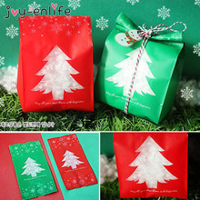 20pcs Christmas Gift Bags New Year Navidad Gifts Decor Tree Candy Bag Box Xmas Decorations for home