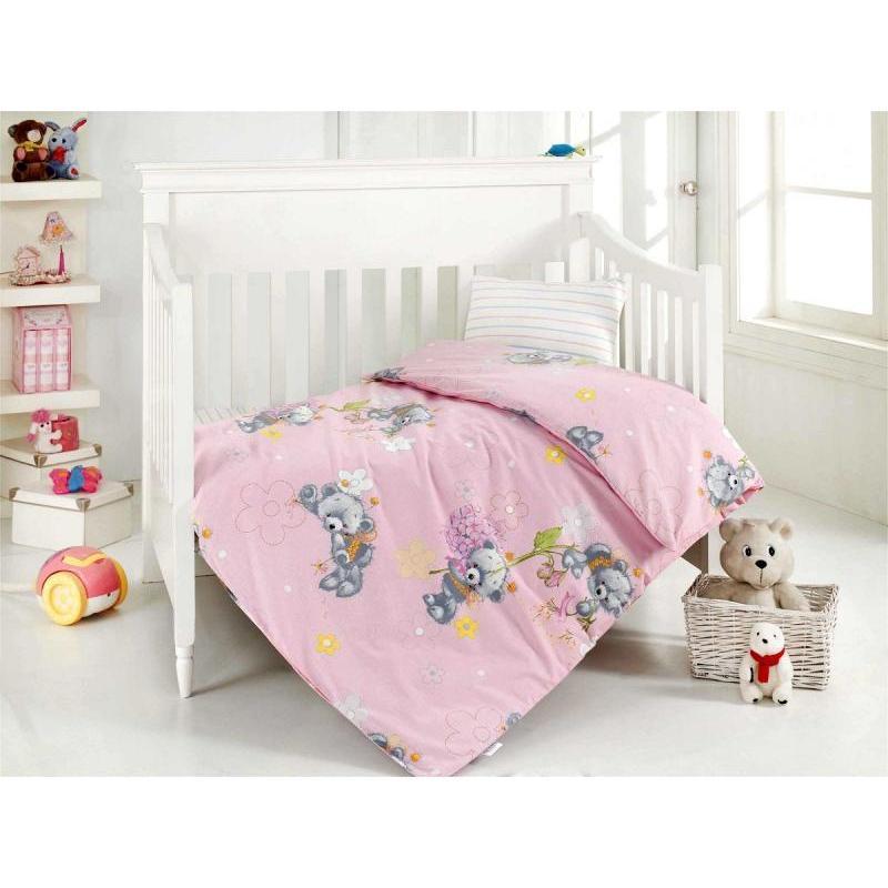 Фото - Bedding Set for baby ALTINBASAK, YUMAK, pink bedding set for baby altinbasak dream garden