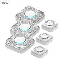 Mulo Wireless Smart Doorbell 433Mhz 36 Door Bell Chime 8 adjustable Volume Levels Intelligent Door Bell for Home and warehouse