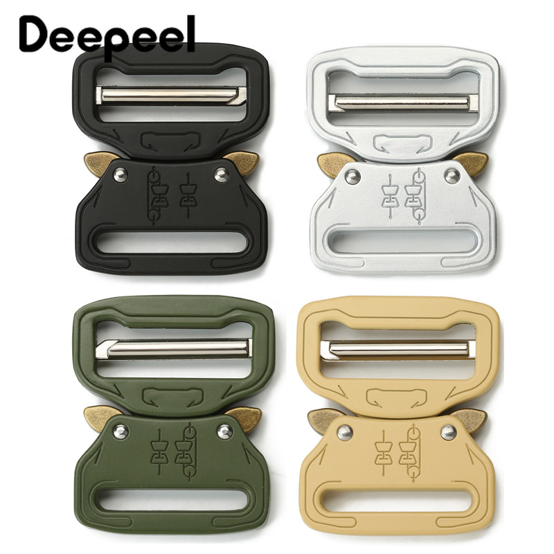 Deepeel 1pcs ID39mm Belt Release Buckle For Outdoor Backpack Waist Bands Climbing Sewing DIY Crafts Hardware Accessory YK204