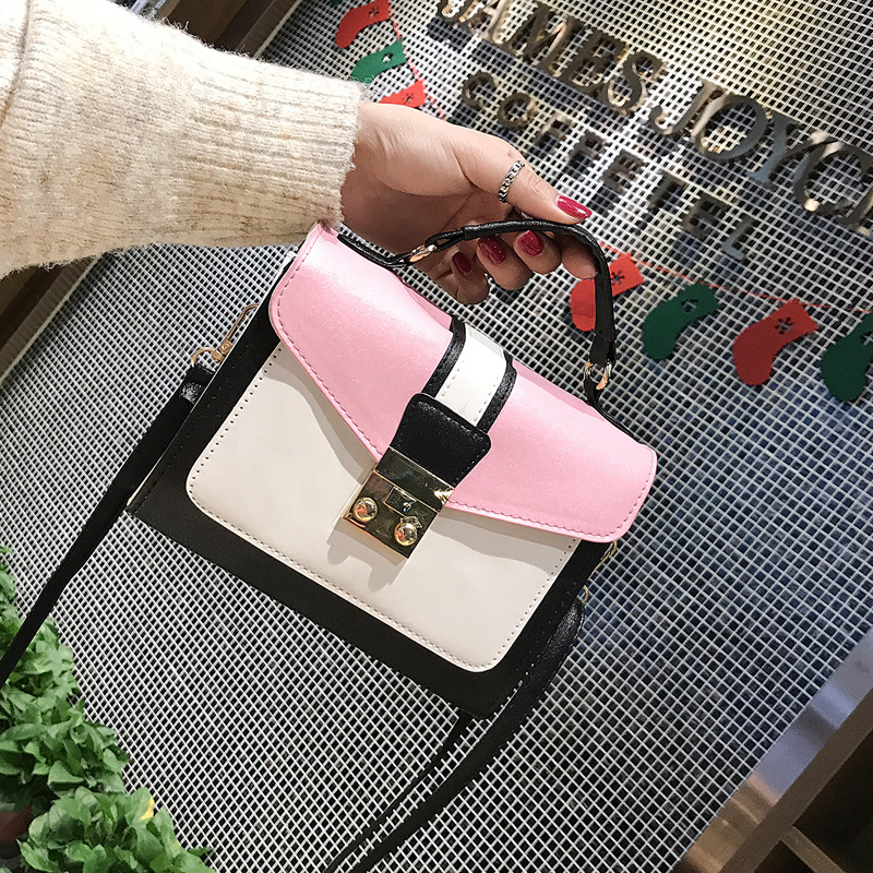 Bag Women's 2019 New Style Fashion Simple Versatile Shoulder Cross-body Hand Square Sling Bag Female Bags
