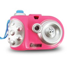 Children Fun Projection Camera Toy Variety Animal Pattern Baby Cognition LED Light Educational Study for Kids 1
