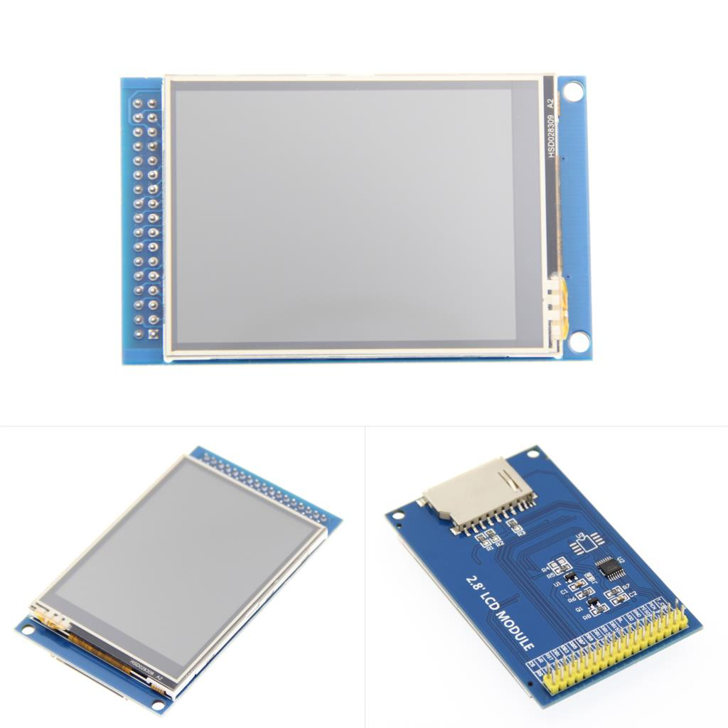 <font><b>2.8</b></font> Inch TFT <font><b>LCD</b></font> Touch Screen Board ILI9341 TFT <font><b>LCD</b></font> Shield Touch Display Module 240X320 For Arduino UNO Color TFT Touch Panel image