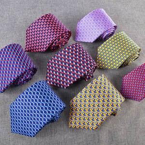 8.5CM 100% Real Natural Silk Mens Ties Animal Printed Neck Ties For Men Neckties Neckties