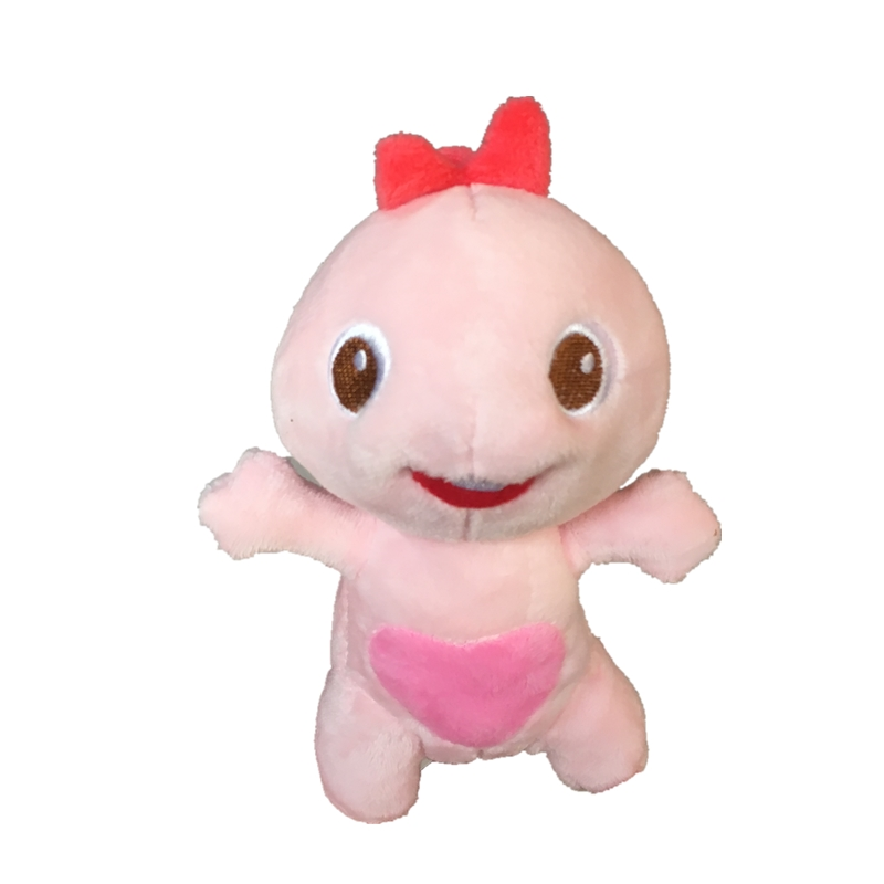 15cm VIPKID Dino Sister Cute Dino Baby Dinosaur Doll Plush Doll Child Gift Pink Plush Doll Toys For Teacher Gifts