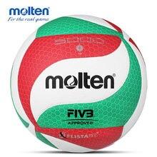 Molten – boule de Volley-Ball originale V5M5000, taille officielle, avec sac à billes, pour entraînement et Match, Type phare