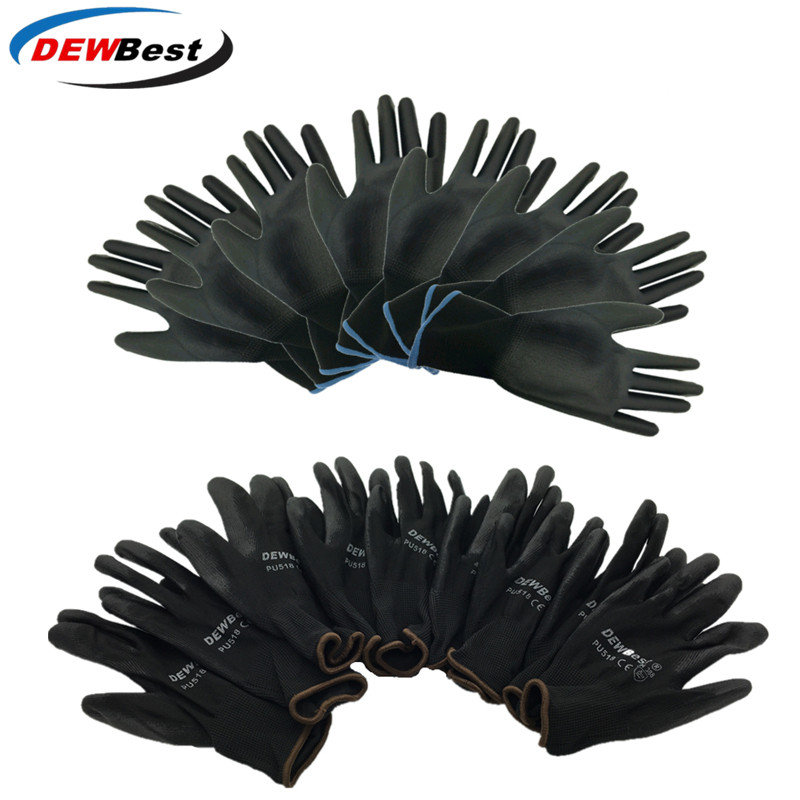 Dewbest Gloves Safety-Protection New-Store 001 Factory 12pairs/Lot European Pu-Material