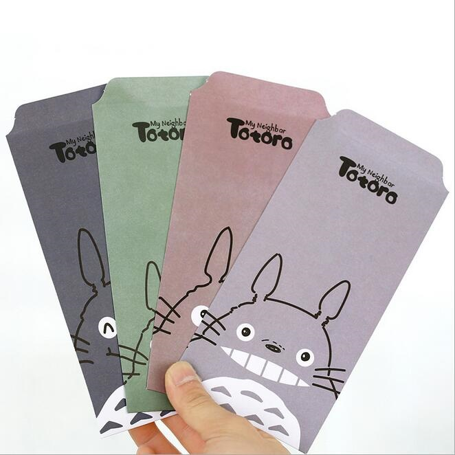 5pcs/lot  175*87mm Japan Cartoon Cat Series Envelope Gift Envelope Bags For Kids Children