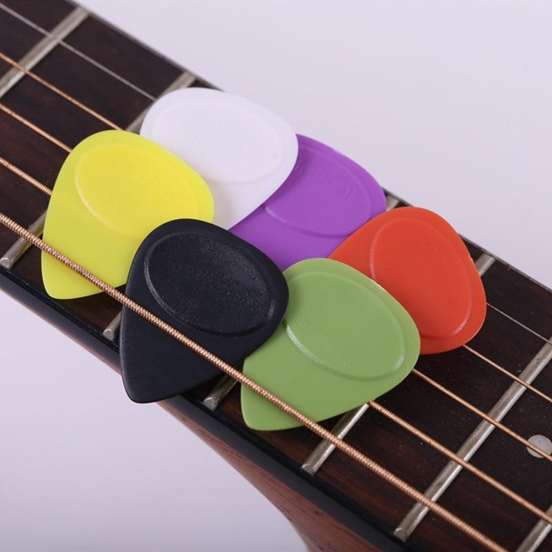 Hot 10pcs/set Guitar Picks Different Thickness Guitar Tuner Bass Celluloid Pick Electric Guitar Plectrums Accessories