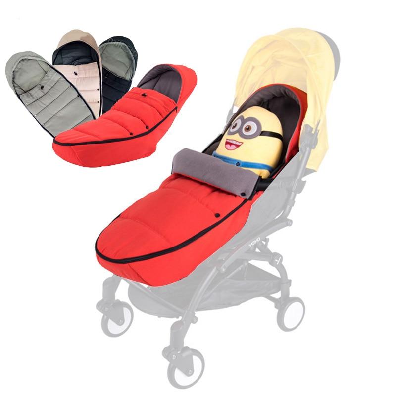 Baby Stroller Sleeping Socks Bag Newborn Nest For Babyzen Yoyo Yoya Pram Fleece Footmuff Universal Accessories Case Cover