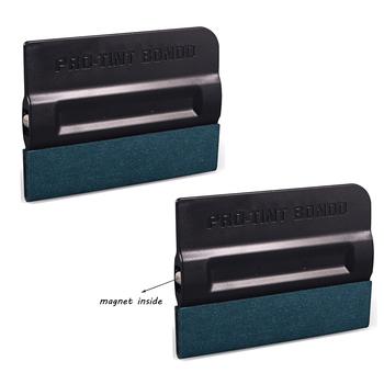 FOSHIO 2 sztuk magnes ściągaczka do Auto folia z odcieniem z włókna węglowego okno naklejka foliowa zainstalować zamszowe filc oklejanie samochodów #8230 tanie i dobre opinie 10 -20 CN (pochodzenie) 20 -40 3inch 2inch plastic Zestaw Dekoracyjne folia i tatuaże Folie okienne i ochrona słoneczna