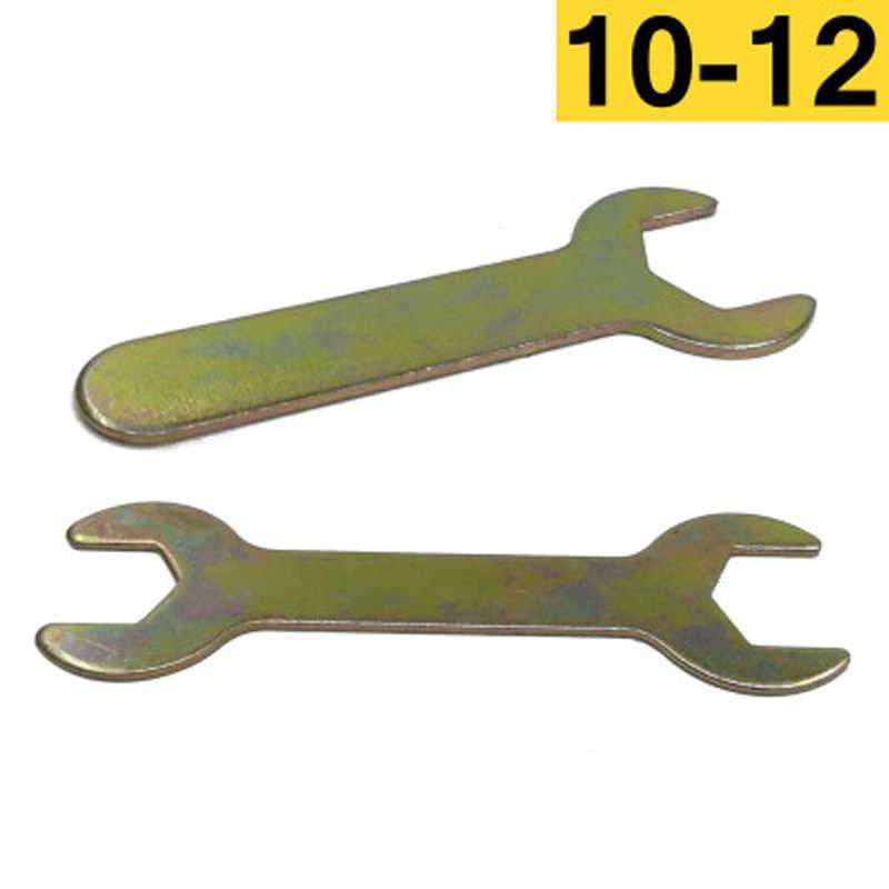 1Pcs Single kepala open end wrench 4-22mm pembukaan Single-end ultra tipis kecil kunci pas untuk mendukung kamar mandi