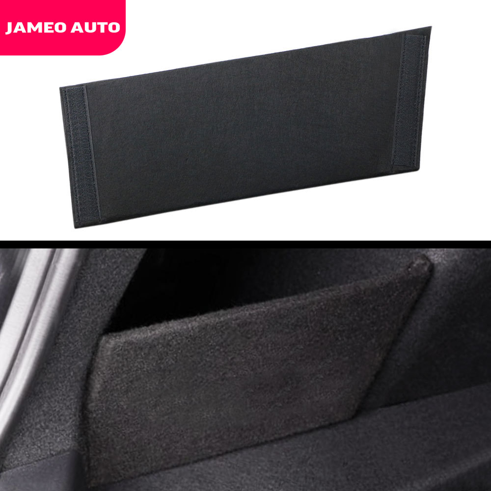 1Pc Car Trunk Side Storage Organizer Board Storage Partitions On Both Sides Of The Trunk Partition Tail Box For Tesla Model 3