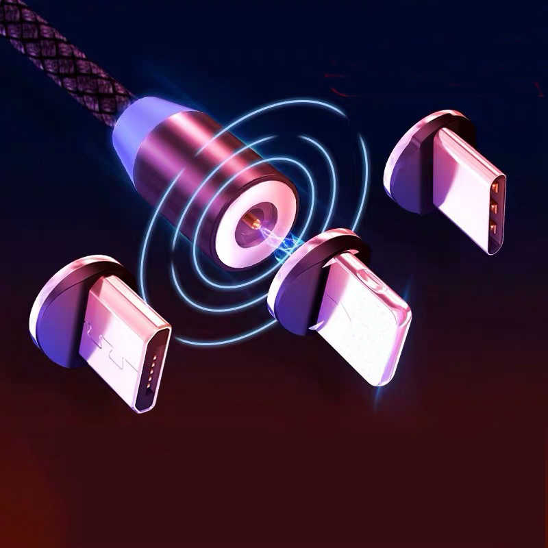 كابل مغناطيسي شحن سريع كابل مايكرو usb نوع c شاحن مغناطيسي usb c سلك مايكرو usb آيفون 11 برو Xr x redmi نوت 9s
