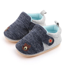 2020 New Winter Fashion Baby Boys Girls Sneakers Cotton Sports Crib Soft First Walker Shoes First Walkers For 0-24month cheap LONSANT Cotton Fabric Shallow Summer Slip-On patchwork Unisex Rubber Fits true to size take your normal size