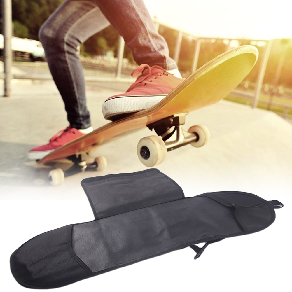 Thicken Outdoor Solid Longboard Skateboard Bag Carry Professional Backpack Accessories Adjustable Singe Shoulder Multifunctional