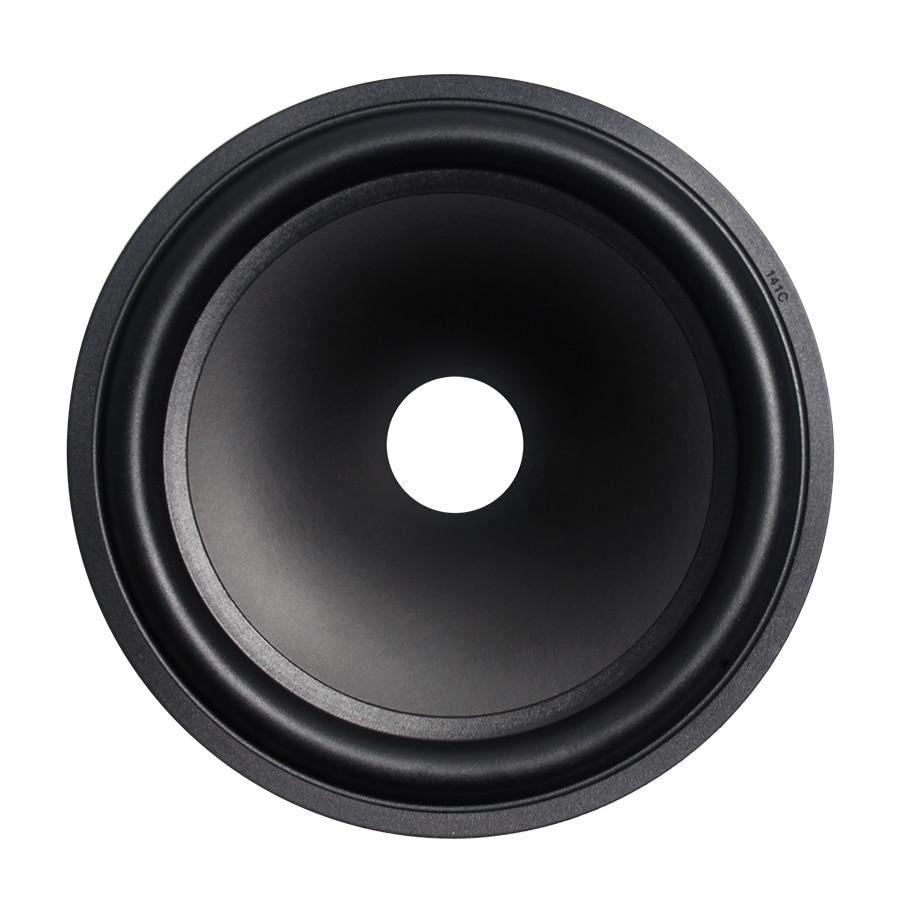 2Pcs/Lot 6 INCH Tweeter Speaker Paper Cone Loudspeaker 25.5mm Core 155mm Drum Paper Foam Edge Repair Woofer Accessories