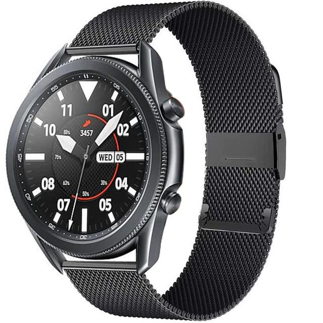 Купить 22 мм металлический быстросъемный ремешок для часов huawei watch