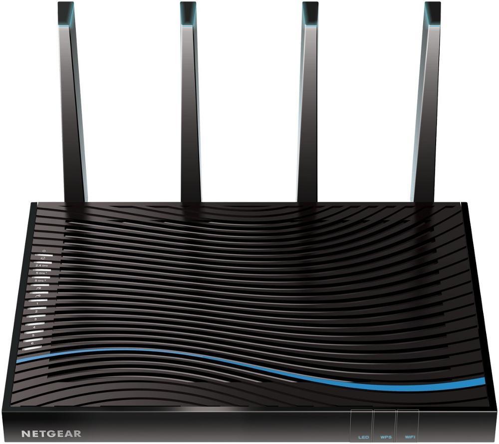 TOP 5 meilleur routeur de jeu Original NETGEAR R8500 (paquet Simple) Nighthawk X8 AC5300 Smart Tri-band Gigabit 1000M + 2166M + 2166Mbps