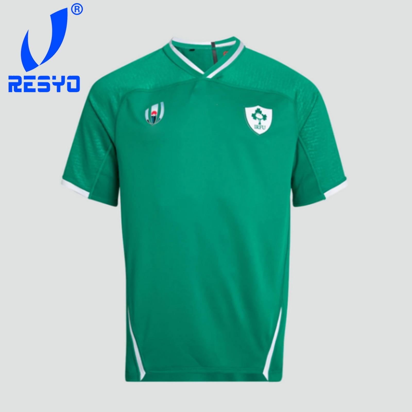 Jersey Rugby Sport-Shirt RESYO For IRELAND Size:S-5xl ALTERNATE VAPODRI PRO