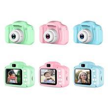 Новейшая TFT2.0 дюймовая Детская Цифровая HD 1080P видеокамера с цветным дисплеем подарок для детей