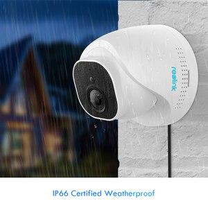 Купольная камера видеонаблюдения Reolink PoE, 5 Мп, слот для sd-карты, инфракрасная камера ночного видения, RLC-520