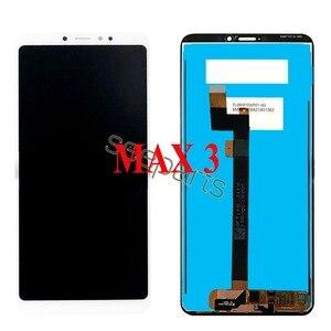 Image 5 - Voor Xiaomi Mi Max 3 Lcd Touch Screen Digitizer Vergadering Voor Xiaomi Mi Max 2 Lcd Max3 Screen Vervanging zwart Wit