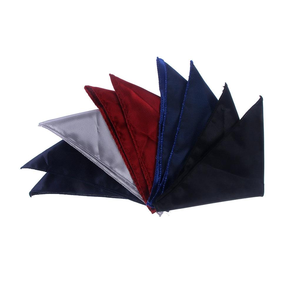 Luxury Men's Handkerchief Men's Suit Handkerchief 22cm*22cm Square Handkerchief Mens Silk Pocket Square Hanky Party Hankies