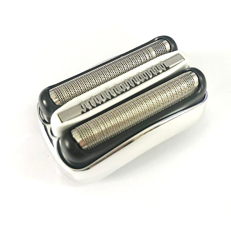 For Braun Electric Razor Head Accessories Net Knife Membrane 32B Blade 3 Series 301S 310S 320S 340S 360S 3000S Silver