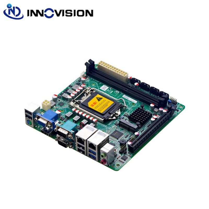 Mini Itx Motherboard LGA1151 Dual Gigabit Network Port 17 * 17 Industrial Integrated 4sata Industrial Control Motherboard