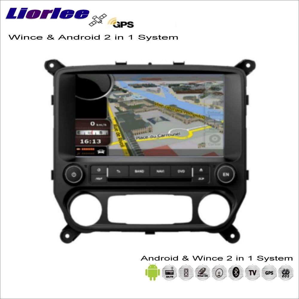 Liorlee For Chevrolet Silverado For GMC Sierra Car Android Multimedia Radio CD DVD Player GPS Navi Navigation Audio Video Stereo image
