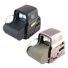 Mira telescópica holográfica para rifle de caza, lupa de punto rojo táctico 558, visor de reflejo para montaje en Weaver carril de 20mm