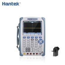 Hantek DSO1202B 200 МГц Ручной цифровой осциллограф 2 канала 1GSa/s Osciloscopio с 6000 мультиметр