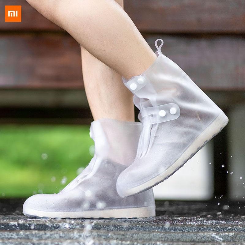 Original Xiaomi Youpin Zaofeng Portable Non-slip Rain Boots Set High Tube Waterproof Non-slip Wear-resistant Seamless Stitching