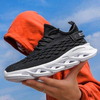 Men Shoes Casual Outdoor Men Fashion Sneakers Breathable Male Comfort Shoes Men Flats Shoes Non