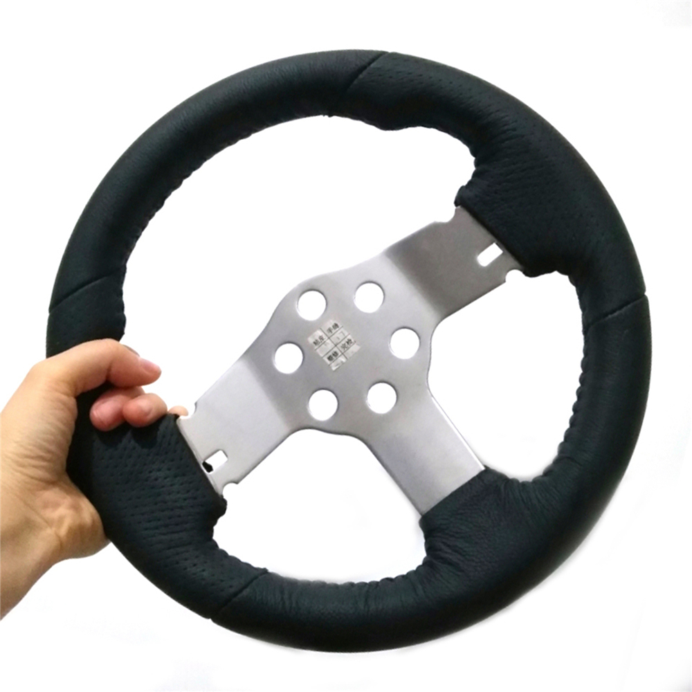 Special Chance for  Leather Steering Wheel for Logitech G27 G29 Racing Car RC Car Upgrade Simulator Parts