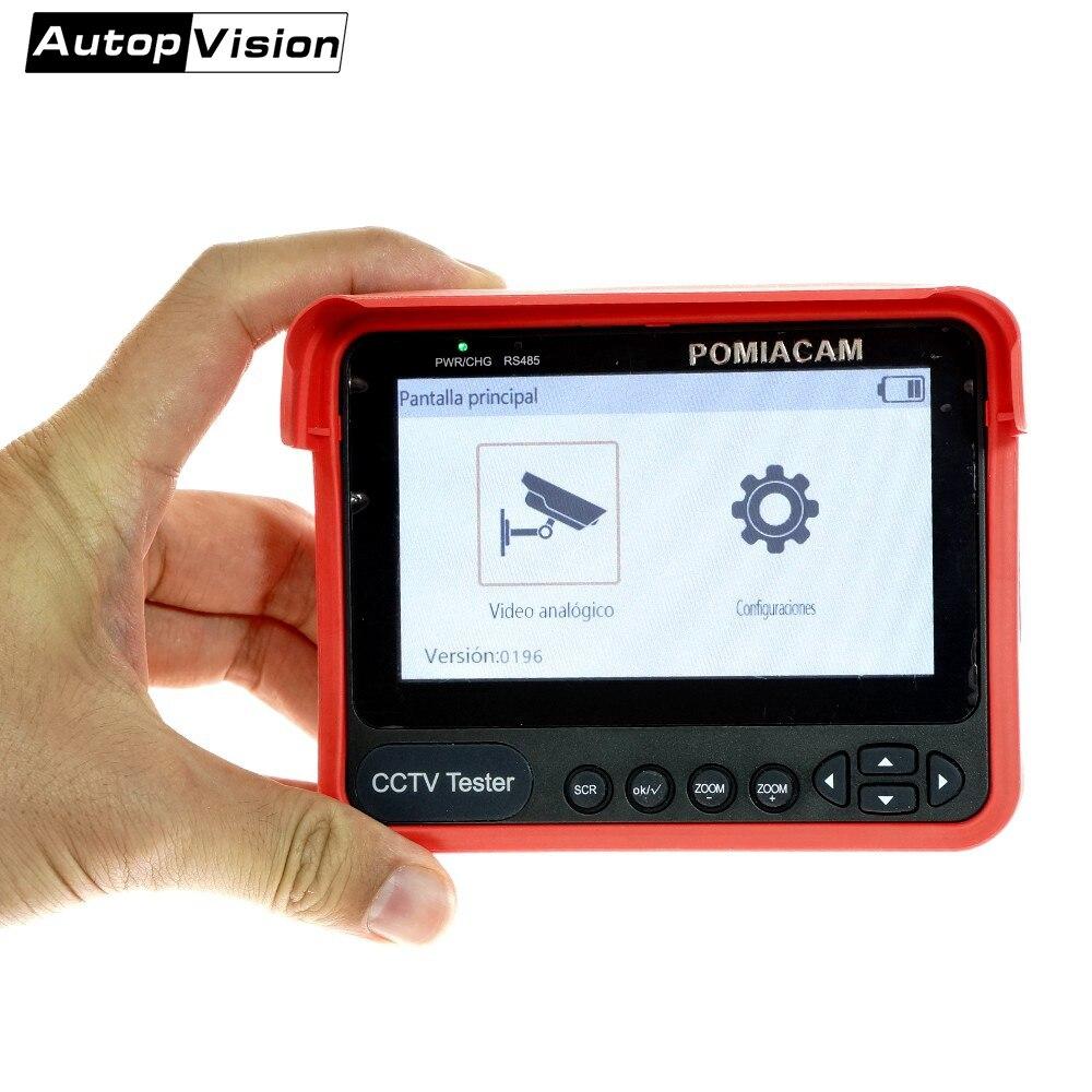 """Güvenlik ve Koruma'ten CCTV Monitör ve Ekran'de V70 2020 yeni geldi CCTV Tester 4.3 """"bilek tester monitör 5MP HD Analog desteği CVBS/CVI/TVI/AHD otomatik adaptasyon test title="""